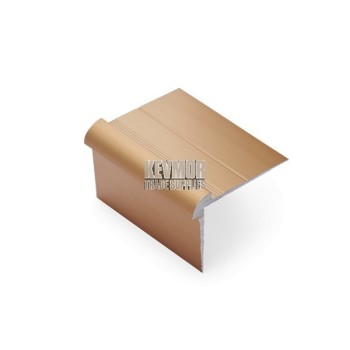 SFS952B - Vinyl Plank Stair Nosing 3mm Bronze