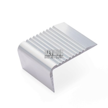 ITX290S - Stair Nosing Silver 3.66m x 65mm - No Insert