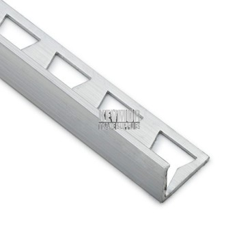IT048 - Trim Ceramic Angle 12mm - 3000 Aluminium - Fixed Tile