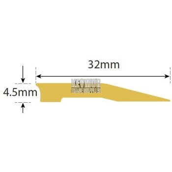 SFSB32 RS - Reducer Strip 4.5mm Brass