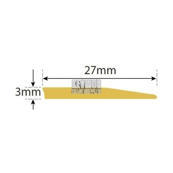 SFSB27 RS - Reducer Strip 3mm Brass