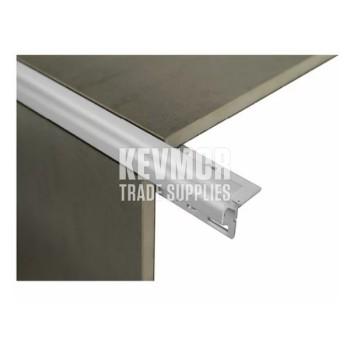Trim External Corner Angle 6mm Matte Silver