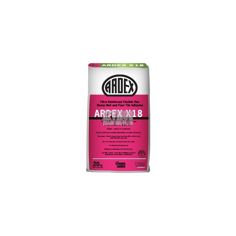 Ardex X18 Fortified Cement-Based Tile Adhesive
