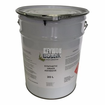 Adhesive Bostik Synthetic Grass 20lt Outdoor - GREEN solvent based outdoor adhesive 1.6m2/per lt