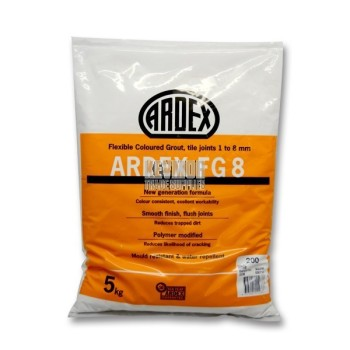 Ardex FG8 Grout 5kg - White 10128