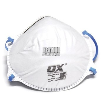 OX P2 Dust/Mist Disposable Mask - 20pk
