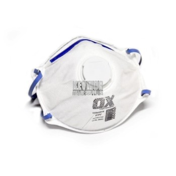 OX P2V Dust/Mist Disposable Mask - 3 pack