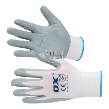 OX Nylon Lined Nitrate Gloves (Pair)