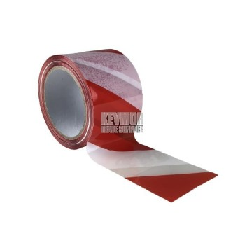 Stylus Barricade 72mm Tape Red/White - Non Adhesive