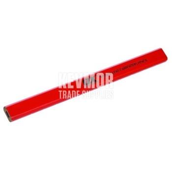 OX Trade Medium Red Carpenters Pencils