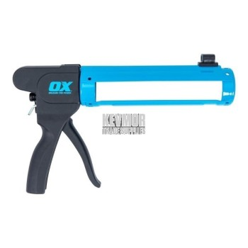 OX Pro Rodless Caulk Gun 10oz 7:1 Thrust Ratio