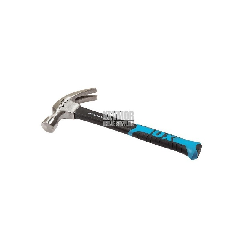 OX Trade Claw Hammer with Fibreglass Handle