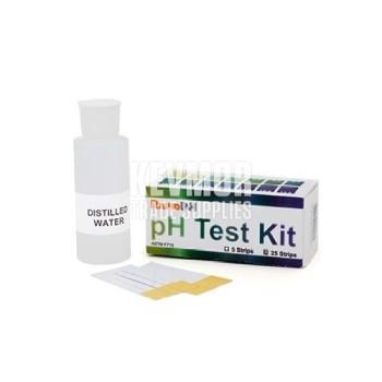 RapidRH pH Test Kit - 25 strips
