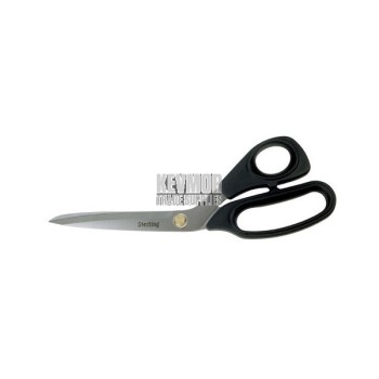 Non Serrated Black Panther Scissors 11""