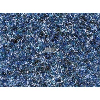 Pacific Velour Needlefelt Outdoor - 2m wide - White/Blue