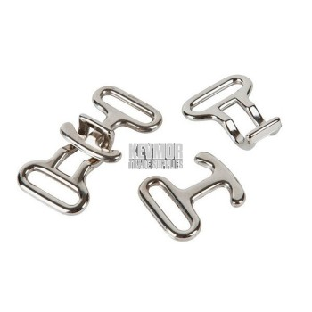 Chrome Hook Buckles & Catches