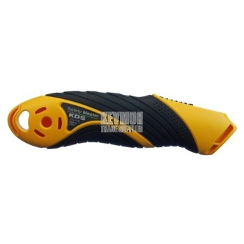 KDS EVO Retractable Safety Knife in safety Yellow