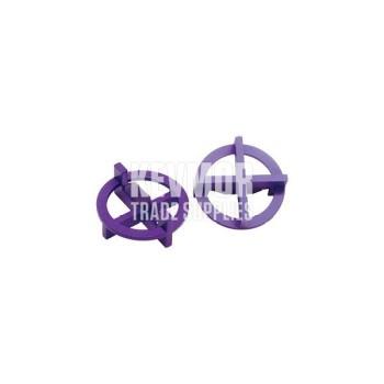 """TTS-332 3/32"""" """"+/-"""" Purple Spcr 100/BG Beno Gundlach"""