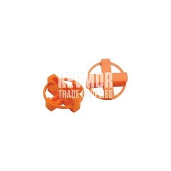 """TTS-14 1/4"""" """"+/-"""" Orange Spcr 100/BG Beno Gundlach"""