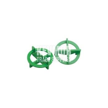 """TTS-116 1/16"""" """"+/-"""" Green Spcr 100/BG Beno Gundlach"""