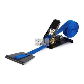 UFS4018 Plank Ratchet Blue - Tied Down Strap Floor Clamp