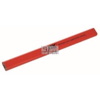 OX Trade Medium Red Carpenters Pencils - 10 pk