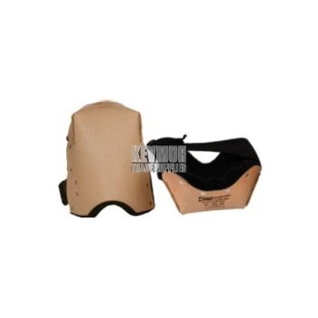 """314-DS """"Double Stuff"""" Leather Knee Pads"""