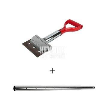 UFS1916 Spade Handle Scraper + UFS5153 Extension Pole