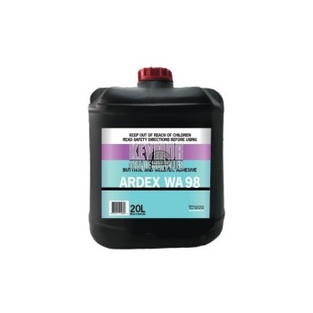 Ardex WA 98 Butynol and Weldtec Adhesive