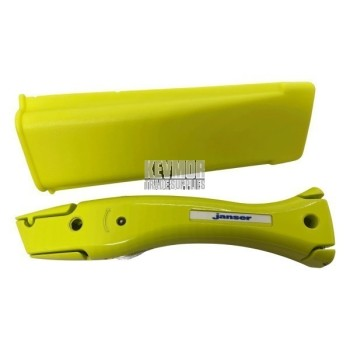 Janser Professional Hi Vis Dolphin ® Utility Knife with matching holder