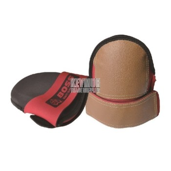 Boss Neoprene Leatherette Knee Pads - X-Large