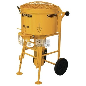 Forced Action Screed Mixer 80-Litre