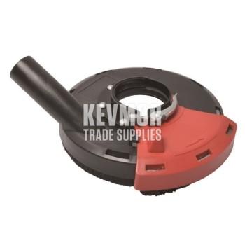 "180mm Dust Extraction Shroud to suit 7"" hand grinder - DEC180"